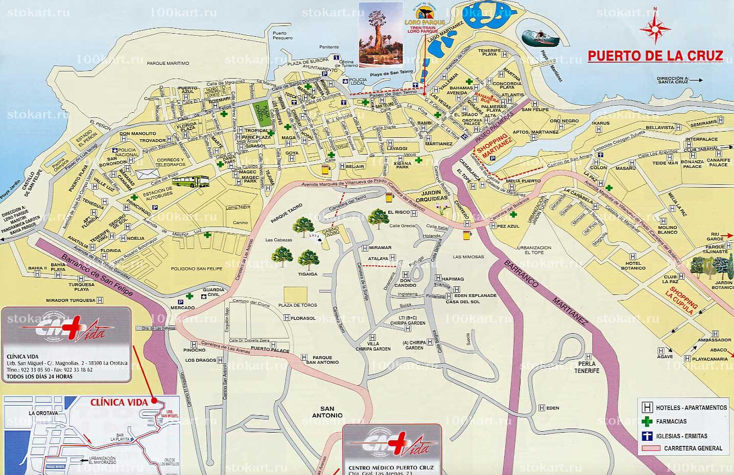 Карты Ллорет-де-Мара | Подробная карта Ллорет-де-Мара на ...