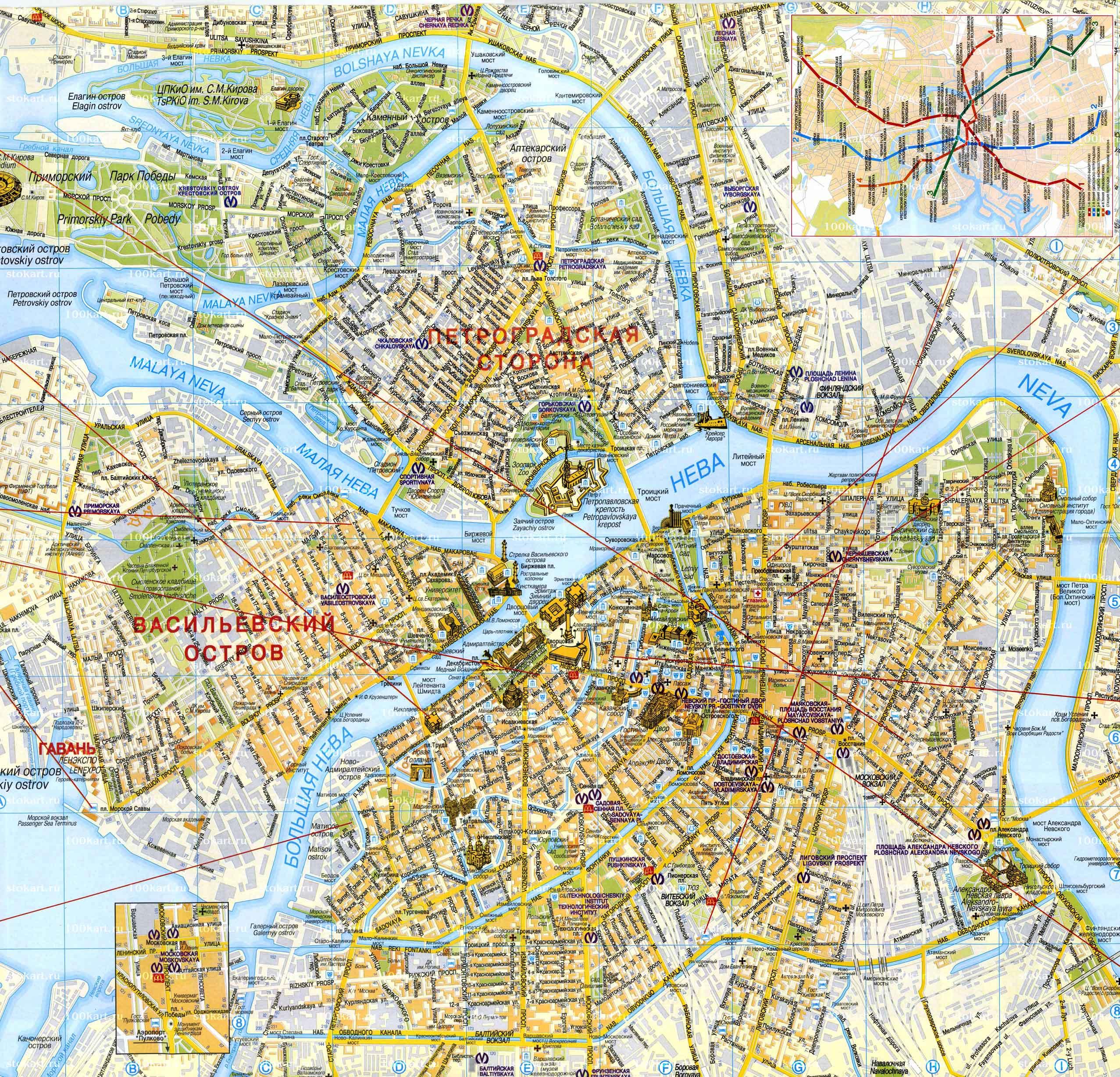 Карта санкт петербурга Справка о кодировании от алкоголизма Маяковская